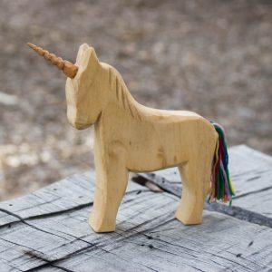 wooden uuicorn