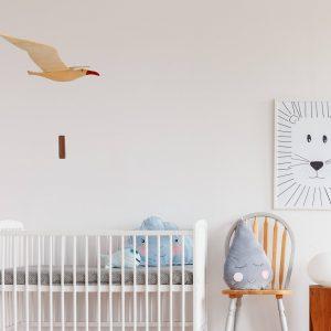 seagull in nursery