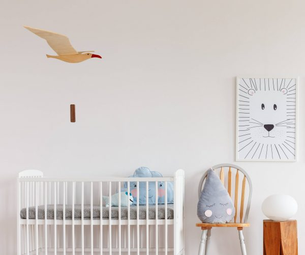 seagull in nursery