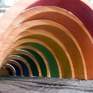 inverse rainbow tunnel